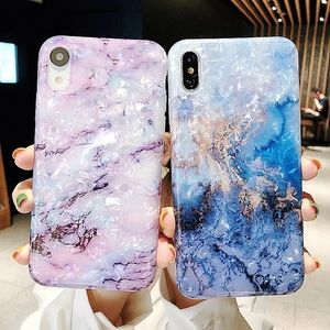 Iphone case Crystal marble in various colors!